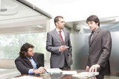Businessmen in the meeting — Stock Photo