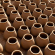 Ceramic clay pots — Stock Photo