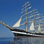 The sailing ship — Stock Photo