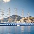 Sailing ship yachts — Stock Photo #7552886