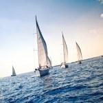 Sailing ship yachts — Stock Photo #7552905