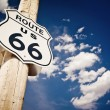 Route 66 sign — Foto Stock #7553033