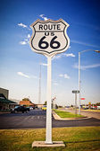 Signe de la route 66 — Photo