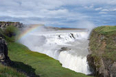Gullfoss waterfall — Stockfoto
