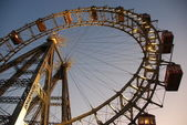 Ferris wheel Vienna — Stock Photo