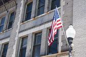 Flaga amerykańska — Zdjęcie stockowe