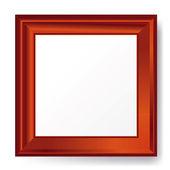 Empty photo frame. — Stock Vector