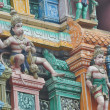 Detail Hindu temple — Stock Photo