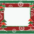 Stock Vector: Holidays frame