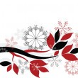 Royalty-Free Stock Векторное изображение: Christmas decor ,vector