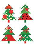 Christmas fir trees — Stock Photo