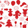 Christmas decor ,vector — Stock Vector #7604190