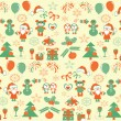 Christmas background — Stock Vector #7604202