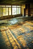 Antigua casa destruida — Foto de Stock