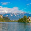 Stock Photo: Bled lake