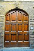 A vintage door — Stock Photo