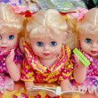 Dolls trinity. — Stock Photo