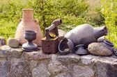 Antique iron tool. — Stock Photo