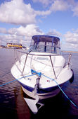 Moored boat. — Stock Photo