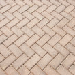 Brick footpath background - 图库照片