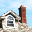 Closeup chimney on the roof — Stock Photo #6824085