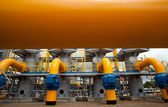 The compressor station — Stock Photo