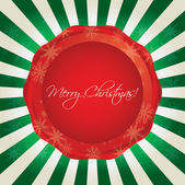 Special Christmas background — Stock Vector
