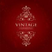 Speciální rám vinobraní — Stock vektor