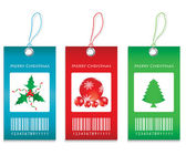 Price tags - Christmas edition — Stock Vector