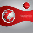 Special red background - Imagen vectorial