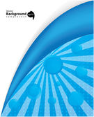 Blue background - vector — Stock Vector