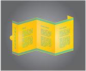 Progettazione di depliant per il tuo business — Vettoriale Stock