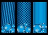 Elegant christmas banners — Stockvector