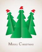 Special Christmas card — Stock Vector