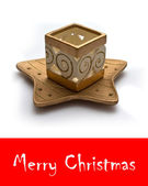 специальная новогодняя открытка для вашей семьи — Стоковое фото