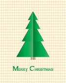 Tarjeta especial de navidad — Vector de stock