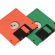 Floppy disks - Stock Photo