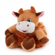 Soft toys cow - Stock Photo
