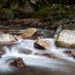 Boulders in stream. — Stock Photo