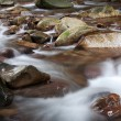 Stock Photo: Large rocks in stream.