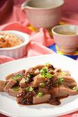 Close up of Korean dish. — Stock Photo
