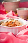 Kimchi coreano saludable. — Foto de Stock