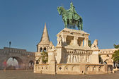 Stephen I Statue Budapest Hungary — Stock Photo