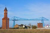 Transporter Bridge Middlesborough — Stock Photo