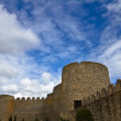Castle Wall and Sky — Stock Photo #7312606