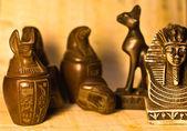 Egyptian Figurines — Stock Photo