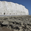 Bay at Seven Sisters, UK. - Stock Photo