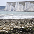 Bay at Seven Sisters, UK. — Stock Photo