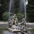 Stock Photo: Waddesdon Manor. Fountains near Palace