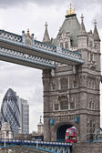Tower Bridge in London. UK — Stock Photo